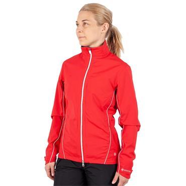Galvin Green Ladies Arissa Waterproof GORE-TEX Jacket Red - White