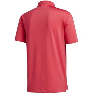 adidas Gents Ultimate 2.0 Solid Polo Powerpink