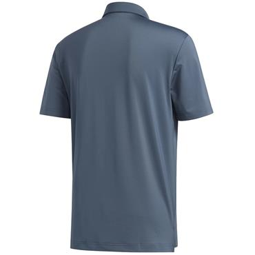 adidas Gents Ultimate 2.0 Solid Polo Legacy Blue
