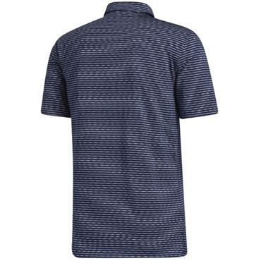 adidas Gents Ultimate Space Dye Polo Collegiate Navy - White