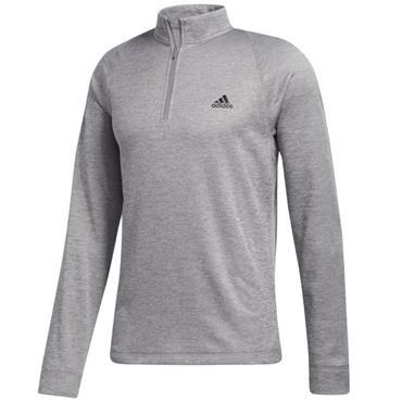 adidas Gents Midweight 1/2 Zip Top Grey