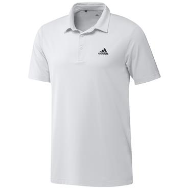 adidas Gents Ultimate365 Solid Left Chest Polo Shirt White