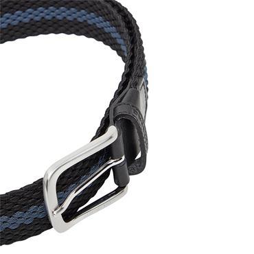 J.Lindeberg Hades Elastic Stripe Belt Black