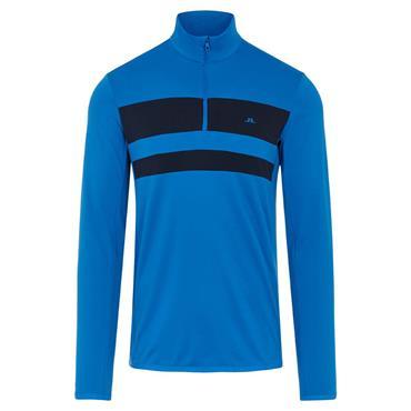 J.Lindeberg Gents Bran Midlayer Sweater Blue