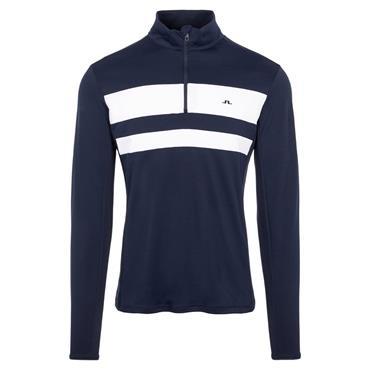 J.Lindeberg Gents Bran Midlayer Sweater Navy