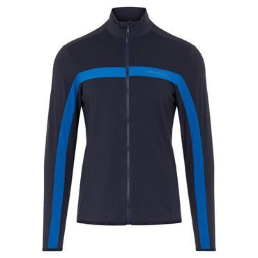 J.Lindeberg Gents Seasonal Jarvis Midlayer Jacket Egyptian Blue