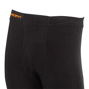Zero Fit Gents Heatrub Leggings Black
