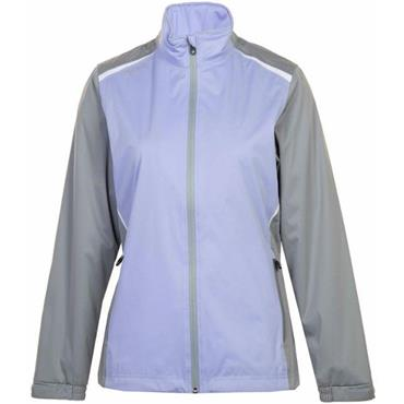Proquip Ladies TourFlex Lite Katrina Waterproof Jacket Lilac - Grey - White