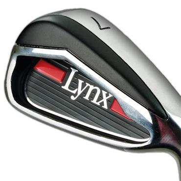 Lynx Predator Red 7 Steel Irons 5-SW Gents RH