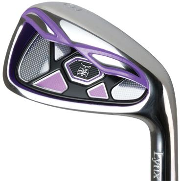 Lynx Tigress 7 Graphite Irons 5-SW Ladies RH Purple