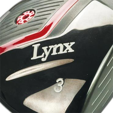 Lynx Predator Red Fairway Wood Gents RH
