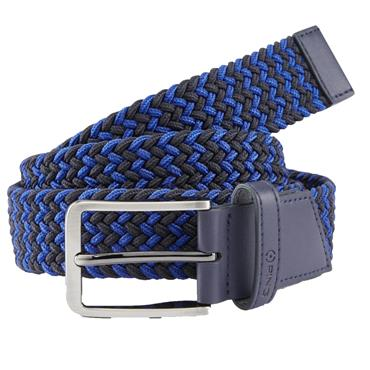 Ping Gents Stretch Webbing Belt Blue Multi