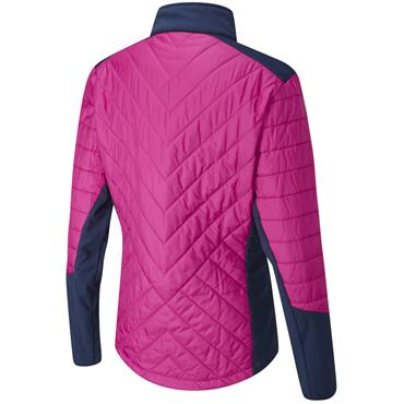 Ping Ladies Oslo Primaloft Jacket II Fuchsia - Oxford Blue