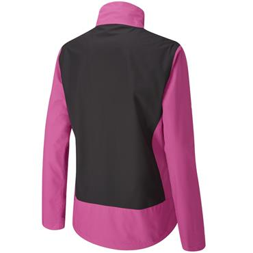 Ping Ladies Juno Waterproof Jacket Fuchsia - Black