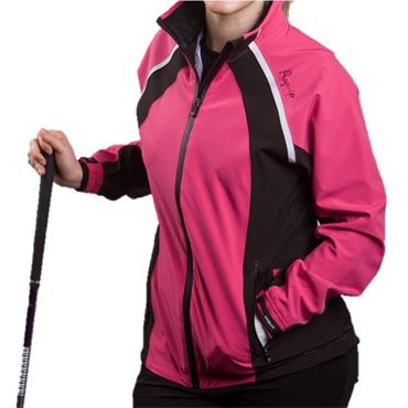 Proquip Ladies Pro Flex Waterproof Jacket Pink - Black