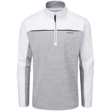Stuburt Gents Enhance Fleece Silver Grey - White