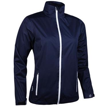 Sunderland Ladies Tech-Lite Waterproof Jacket Navy - White