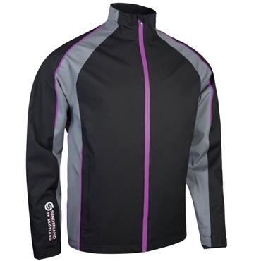 Sunderland Gents Vancouver Waterproof Pro Jacket Black - Gunmetal - Ultraviolet