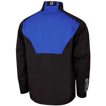 Sunderland Gents Valberg Waterproof Stretch Mesh Golf Jacket Black - Electric Blue - White