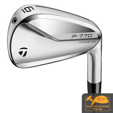 TaylorMade P770 7 Steel Irons 4-PW Gents LH