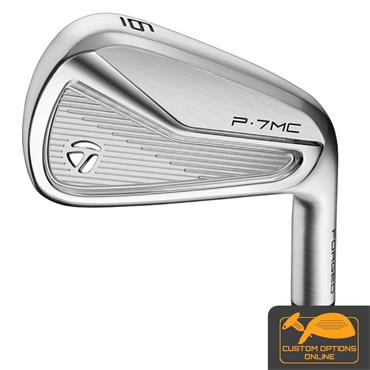 TaylorMade P7MC 7 Steel Irons 4-PW Gents LH