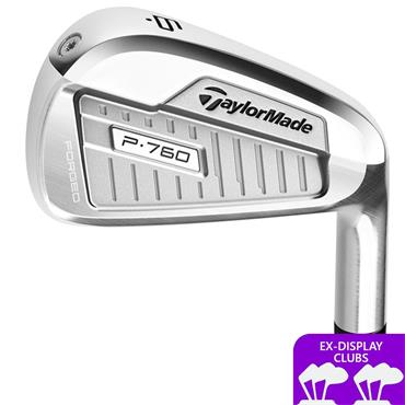 TaylorMade Ex Display P760 7 Steel Irons 4-PW Gents RH