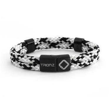 TrionZ Zen Duo Loop Bracelet Black - Silver - Grey