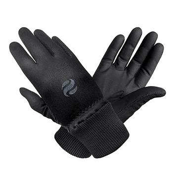 Surprizeshop Ladies Polar Stretch Winter Gloves Black