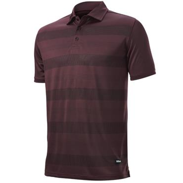 Wilson Gents Signature Polo Burgundy