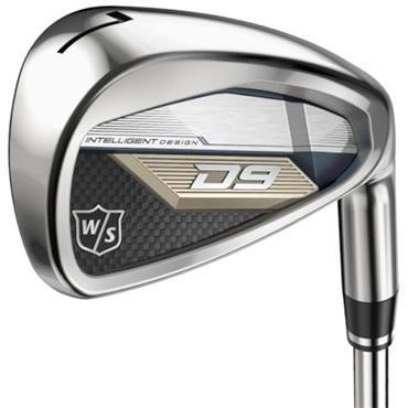 Wilson D9 7 Steel Irons 5-SW Gents RH