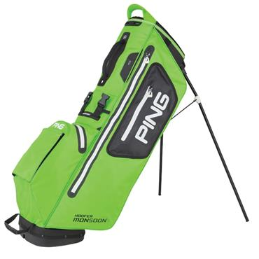 Ping Hoofer Monsoon 201 Carry Bag  Lime/Black