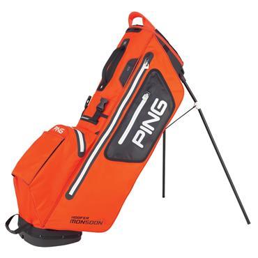 Ping Hoofer Monsoon 201 Carry Bag  Orange/Black