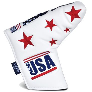 PRG Originals Blade Putter Headcover White USA