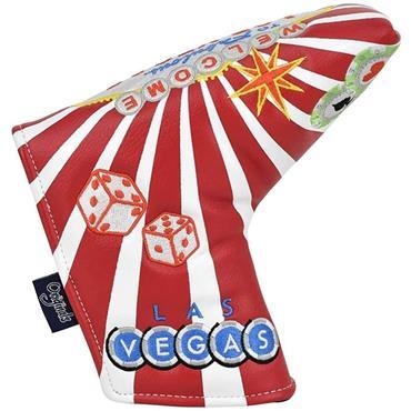 PRG Originals Blade Putter Headcover Red Vegas
