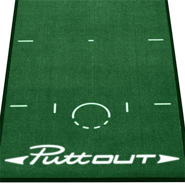 PuttOUT Putting Mat  Green