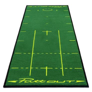 PuttOUT Putting Mat  Yellow