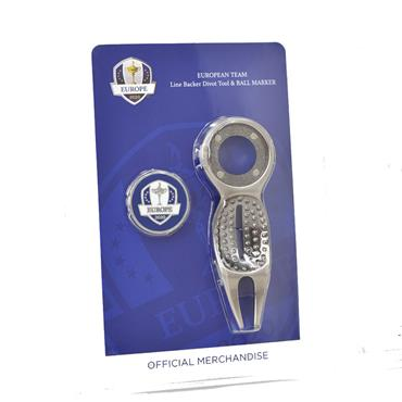Ryder Cup Divot Tool with Ball Marker  Europe