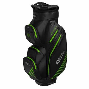 Powakaddy Dri-Tech Cart Bag  Black Gunmetal Lime