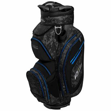 Powakaddy Premium Tech Cart Bag  Blue Camouflage Black