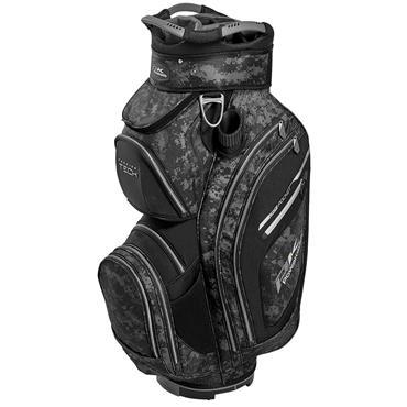 Powakaddy Premium Tech Cart Bag  Grey Camouflage Black