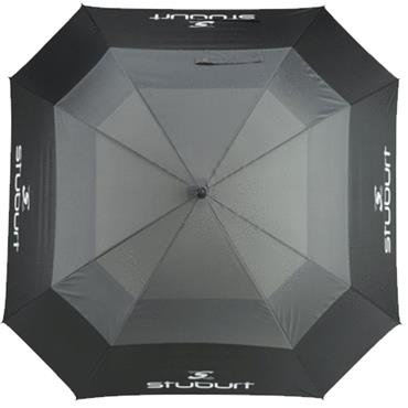 "Stuburt 66"" Nylon Auto Umbrella  Grey"