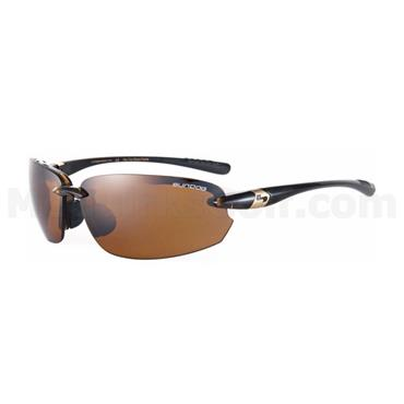 Sundog SunDog Laser Mela Sunglasses  Brown