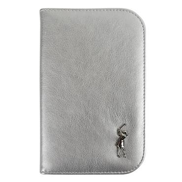 Surprizeshop Metalic Lady Golfer Scorecard Holder Large Silver
