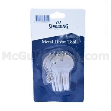 Spalding Metal Divot Tool 3-Pack