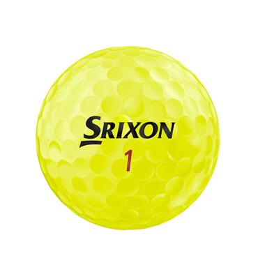 Srixon Z-Star XV Golf Balls  Yellow
