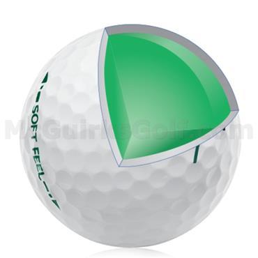 Srixon Soft Feel Golf Balls Dozen White