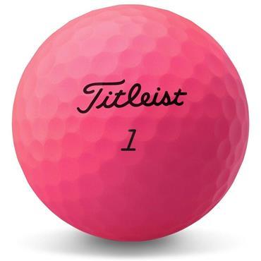 Titleist Velocity Golf Balls Dozen  Pink
