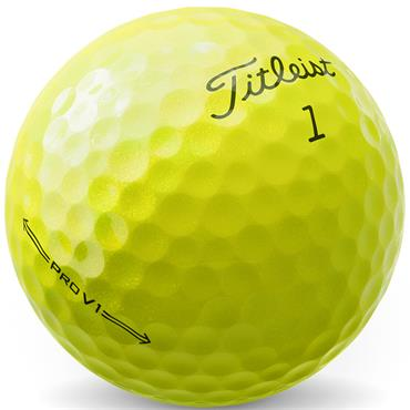 Pro V1 2021 Golf Balls Dozen  Yellow