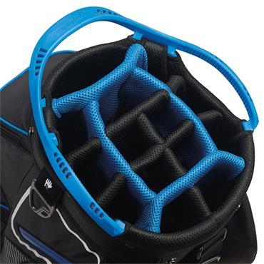 TaylorMade TM20 Cart 8.0 Bag  Black White Blue