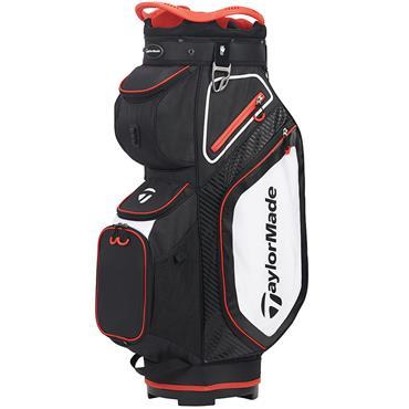 TaylorMade TM20 Cart 8.0 Bag  Black White Red